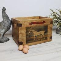 Vintage Horse Tack Box Mambrino Woburn Abbey Stud